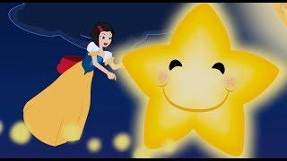 Brilha Brilha Estrelinha com Branca de Neve - Musica infantil com Os Amiguinhos