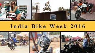 Romance in Goa at India Bike Week 2016   Motown India