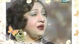 MALA BEGUM - Mohabbat Cheez Hai Kya Wafa Kehte - [Urdu Film Hits]