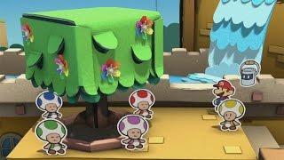 Paper Mario: Color Splash (Wii U) - 100% Walkthrough Part 31 - Achieving 100% Completion