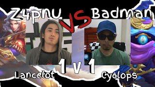 Round 2 Z4pnu VS Badman 1v1 Lancelot VS Cyclops