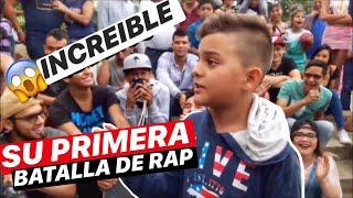 INCREIBLE  NIÑO DE 11 AÑOS EN SU PRIMERA BATALLA DE RAP   SKILLS MIC™