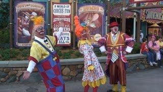 Giggle Gang Clown Troupe Full Show - Storybook Circus, New Fantasyland, Walt Disney World