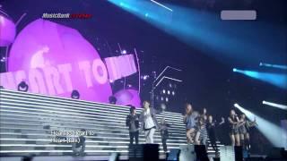 110713 4minute - Heart To Heart (Tokyo) [HD]