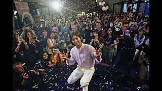 Park Bo Gum draws massive crowd at Samsung Galaxy S9 and S9+launch