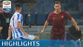 Roma - Pescara - 3-2 - Highlights - Giornata 14 - Serie A TIM 2016/17