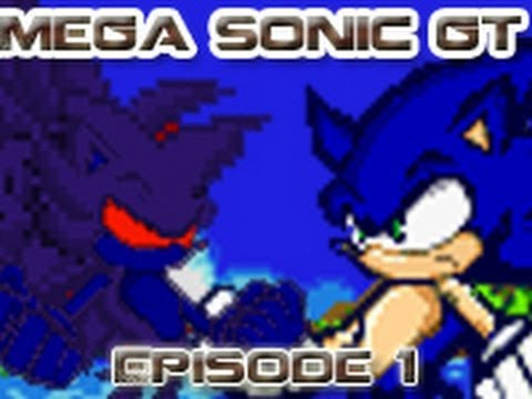Mega Sonic GT Episode 1 HD Sonic Sprite Movie Series