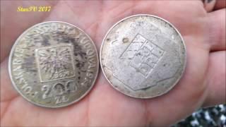 czyszczenie srebrnych monet Część 1