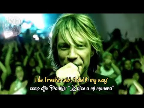 Bon Jovi It s my life Sub Español Lyrics