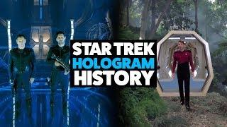 Star Trek Hologram History (Including Discovery)