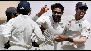 Ravindra Jadeja 4 wickets Vs australia 3rd test , Ranchi