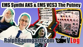 EMS Synthi AKS and EMS VCS3 (The Putney) | Legendary Synthesizer