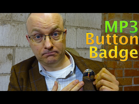 Playbutton - Album in a Button Badge