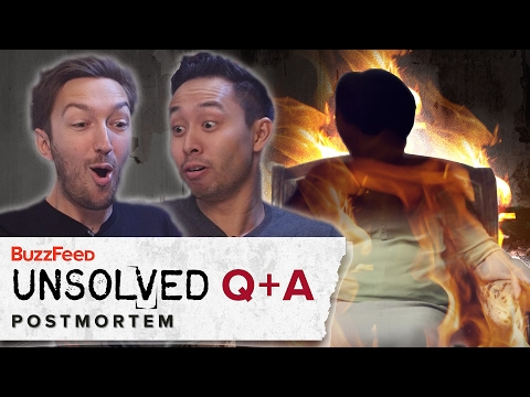 Spontaneous Human Combustion - Q+A