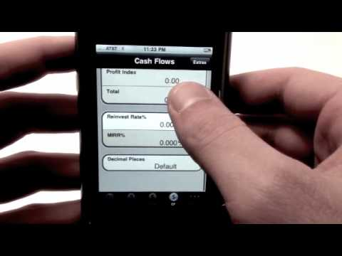 PowerOne Financial Calculator iPhone App Review - AppCalendar.com