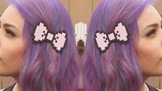 Pixel Bow Clip - DIYGG