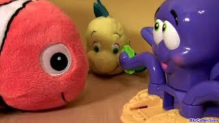 PLAY DOH Octopus Playset Disney Nemo Dory Flounder Sebastian Ocean Animals Ośmiornica Play Dough