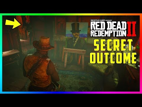 What Happens If You Visit The Strange Man s Cabin With 100 Completion In Red Dead Redemption 2