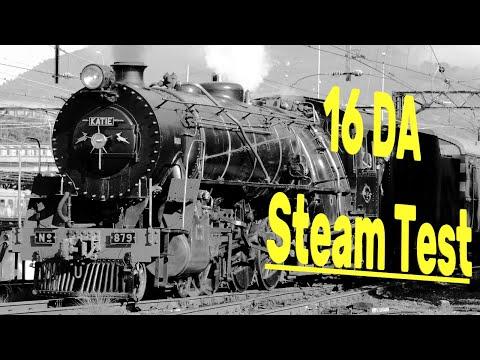 SAR 16DA 879 Steam Test - Old Film