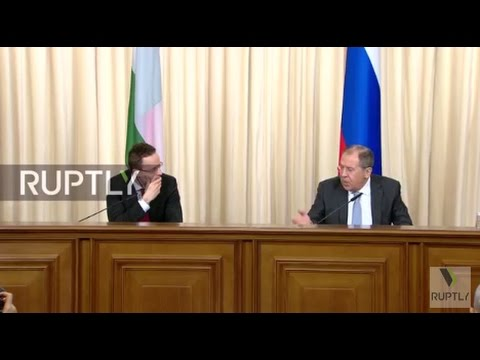LIVE: Lavrov holds joint press conference with Hungarian counterpart Szijjarto