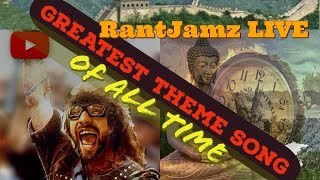 RantJamz Live Theme Song! Greatest Intro of All Time! Drama Edition!