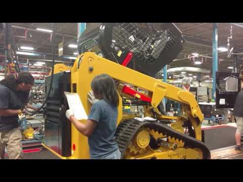 Caterpillar Factory Mannequin Challenge – Cat Skid Steer Loader Assembly Line MannequinChallenge