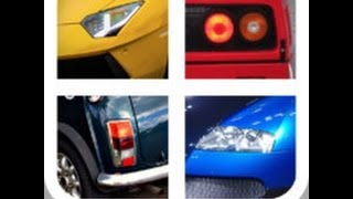 Close Up Cars - Level 1 Answers