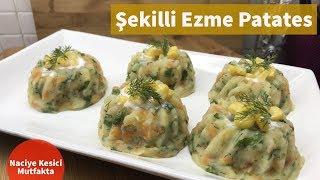 Şekilli Ezme Patates Tarifi - Naciye Kesici - Yemek Tarifleri