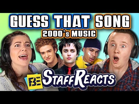 GUESS THAT SONG CHALLENGE 2000s SONGS ft. FBE STAFF