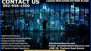 Bangkok Thailand Real Estate & Penthouses - Siam Home Source