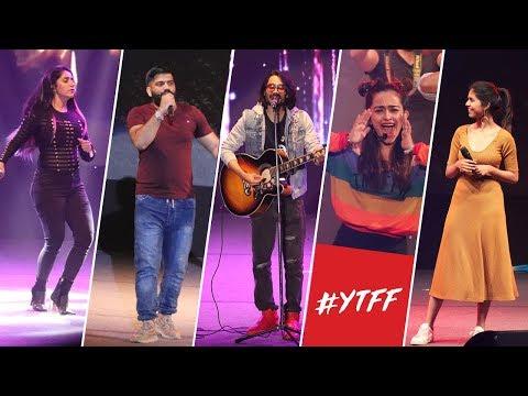 Youtube Fanfest Delhi 2018   BB ki Vines, Technical Guruji, CarryMinati!!