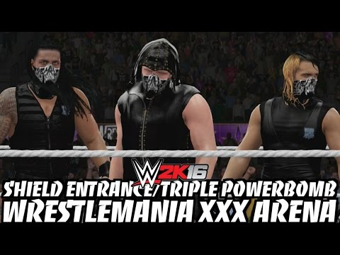 Xxx Mp4 WWE 2K16 The Shield S Entrance Triple Powerbomb In The WrestleMania XXX Arena 3gp Sex
