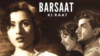 Barsaat Ki Raat (1960) | Full Bollywood Classic Movie | Madhubala, Bharat Bhushan, Shyama