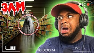 3AM IN A GROCERY STORE!! | Shopping Nightmare