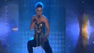 X Factor Albania - Celebrity Guest - Aurela Gace