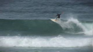 Surfing Brunswick Heads