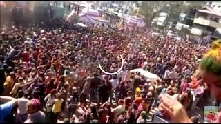 Holi 2017 Dj blast Mandi India