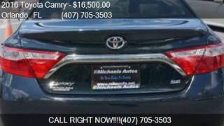 2016 Toyota Camry SE 4dr Sedan for sale in Orlando, FL 32807