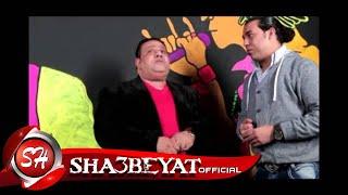 لقاء النجم اشرف الشريعى فى مهرجان قناة شعبيات 2015