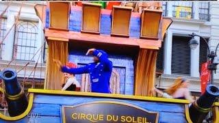 Macy's Thanksgiving Day Parade 2015! Cirque Du Soleil