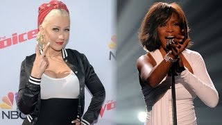 EXCLUSIVE: 'The Voice' Is Planning a Christina Aguilera Performance With Whitney Houston Hologram