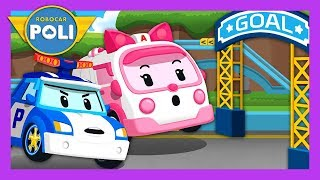 Let's collect the alphabet! | English play for Kids | Robocar Poli Game