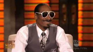 Lopez Tonight - Snoop Dogg's DNA Test - [Snoop Dogg is WHITE]