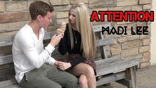 Attention - Charlie Puth (Madi Lee Official Music Video Cover)