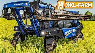 LS19 XXL Farm #43: NEW HOLLAND SP 400F Feldspritze für den Raps! | LANDWIRTSCHAFTS SIMULATOR 19