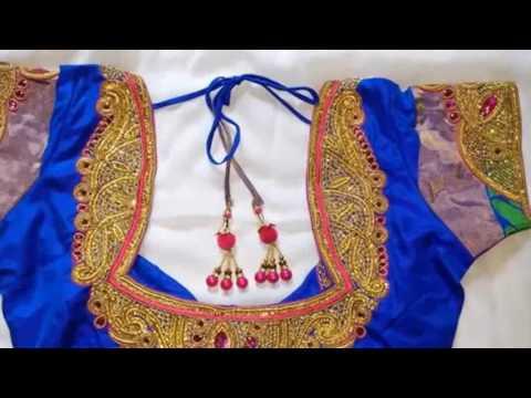 Best Saree Blouses Designer 2017 Collection