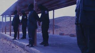 """فيلم دماء الفجر - لحظة إعدام الشهداء """"سامي مشيمع - عباس السميع - علي السنكيس"""" بالرصاص"""
