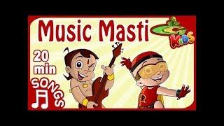 NON STOP - MUSIC MASTI with Chhota Bheem and Mighty Raju
