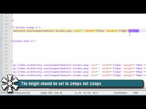jQuery Tutorial: Make a jQuery Slider (1/3)