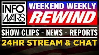LIVE NEWS TODAY 📢 Alex Jones Show ► 4pm ET - Friday 8/18/17 ► Infowars Stream